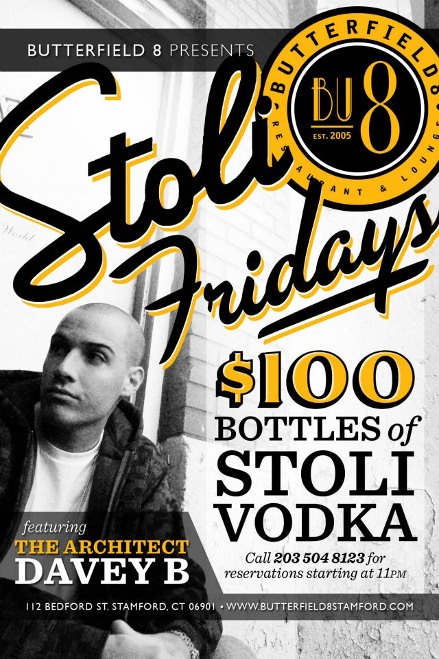 Stoli Fridays at Butterfield 8
